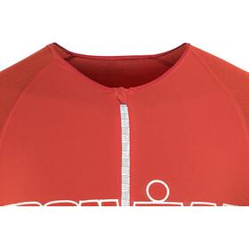 Compressport TR3 Triathlon Tank Top Unisex Ironman Edition Stripes Red